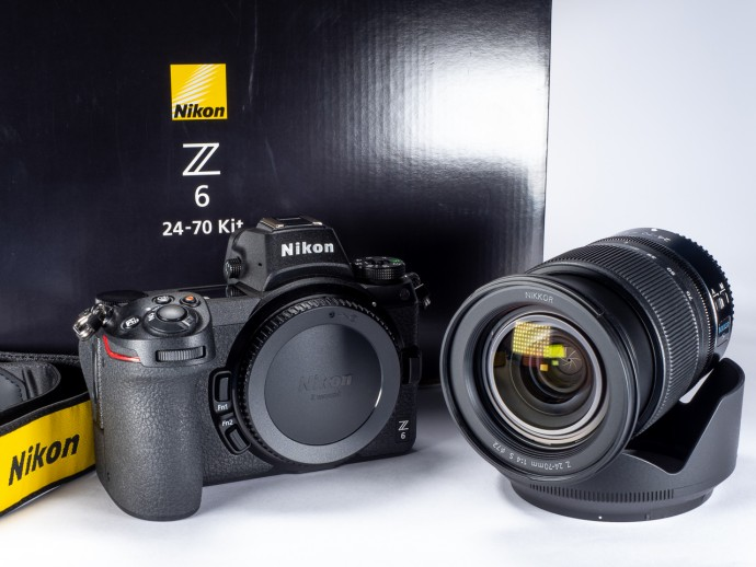 Nikon Z6 kit 24-70 F4 + FTZ adaptor